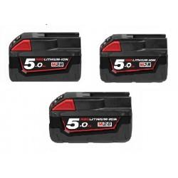 3 Batterie M28 B5 Milwaukee...