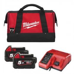 Caricabatterie M12-18C + 2...